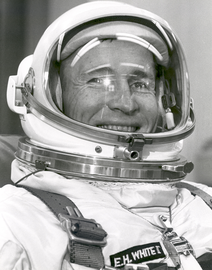 Space History Photo: Astronaut Edward White Ready For Gemini IV Liftoff