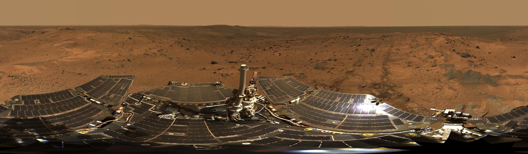 10 years on Mars