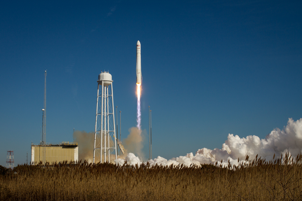 Antares Lifts Off: Jan. 9, 2014