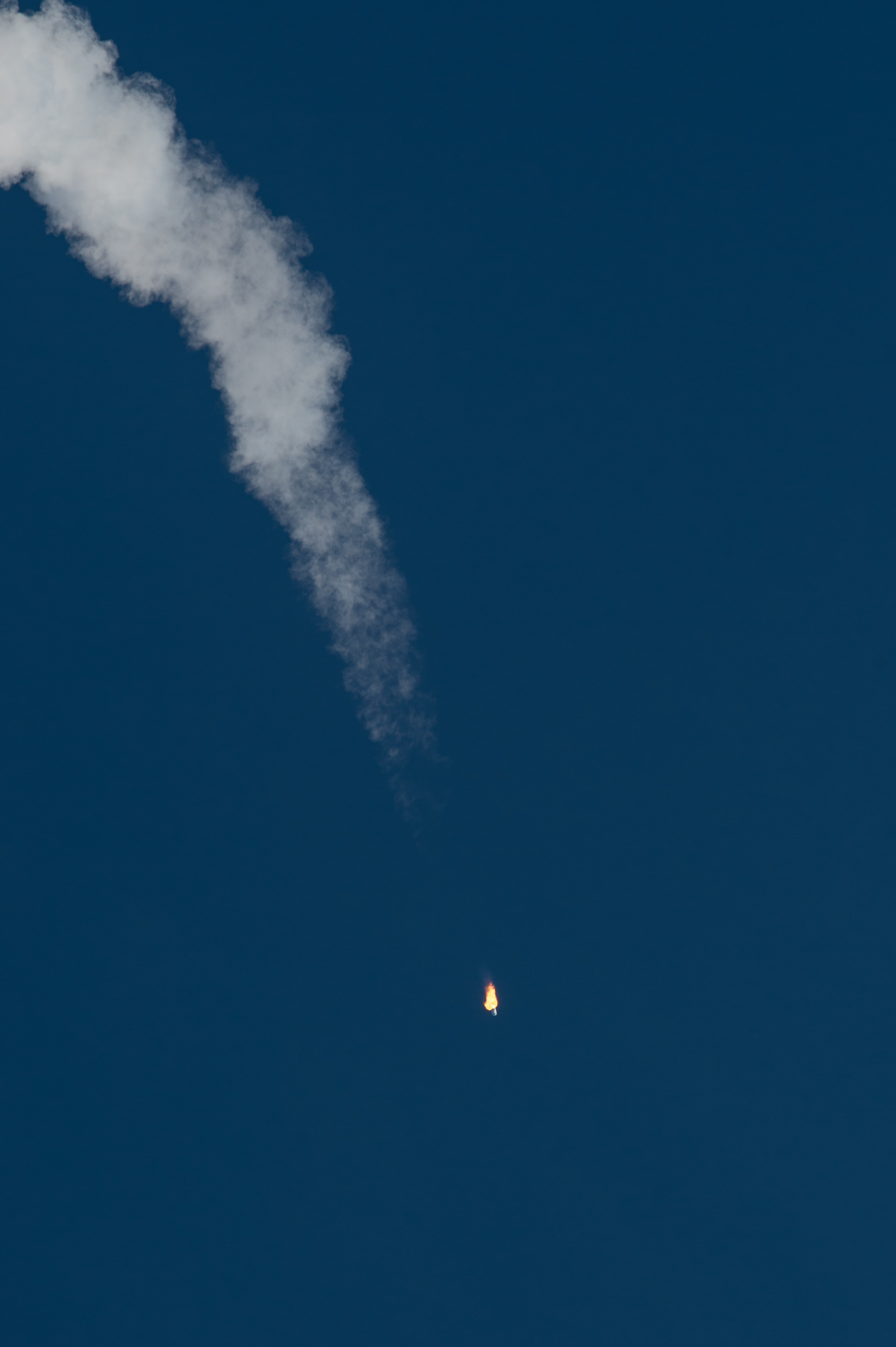 Antares Rocket Takes Off, Jan. 9, 2014