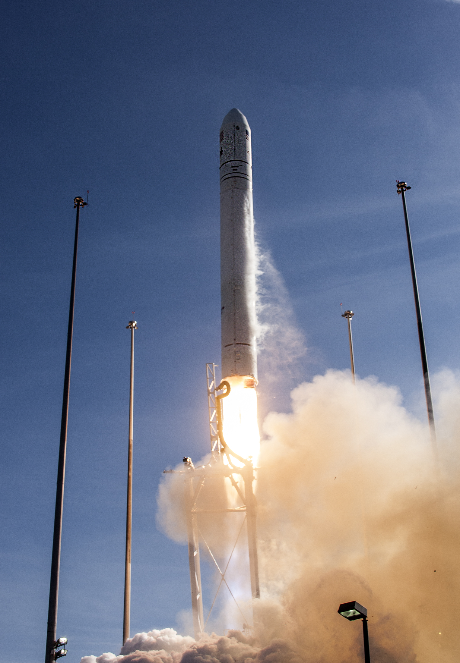 Antares Rocket Lift Off: Jan. 9, 2014