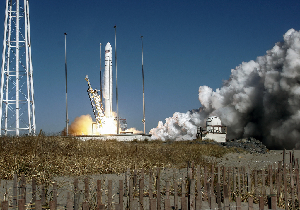 Antares Soars with Orb-1 Mission: Jan. 9, 2014