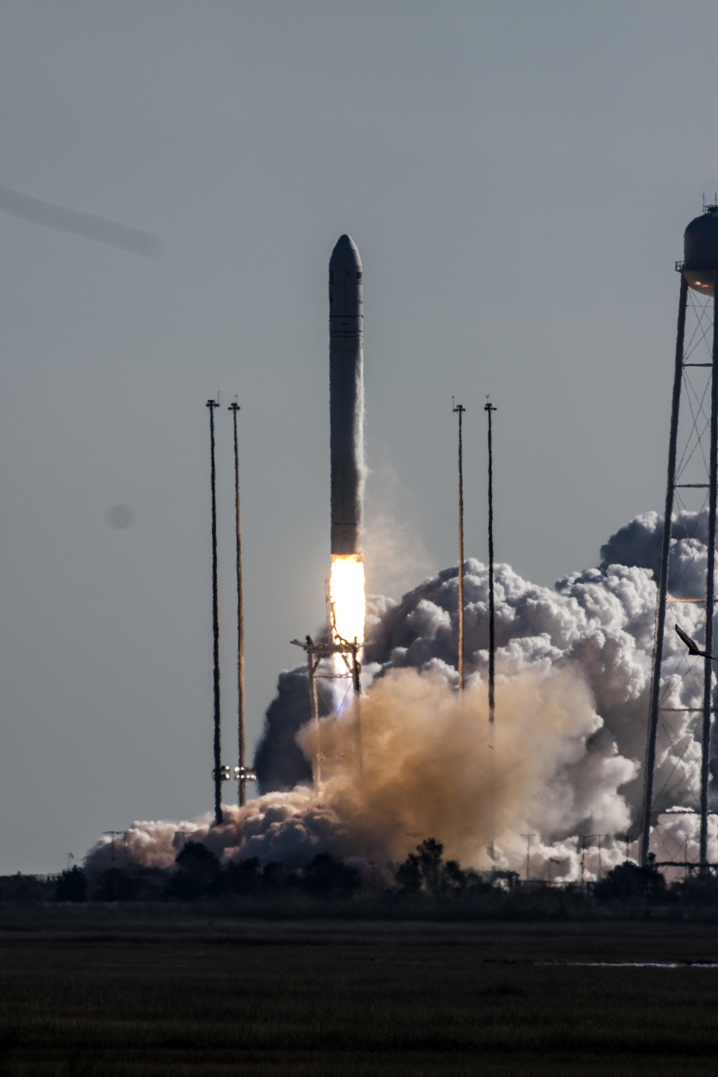 Antares Lifts Off with Orb-1 Mission: Jan. 9, 2014
