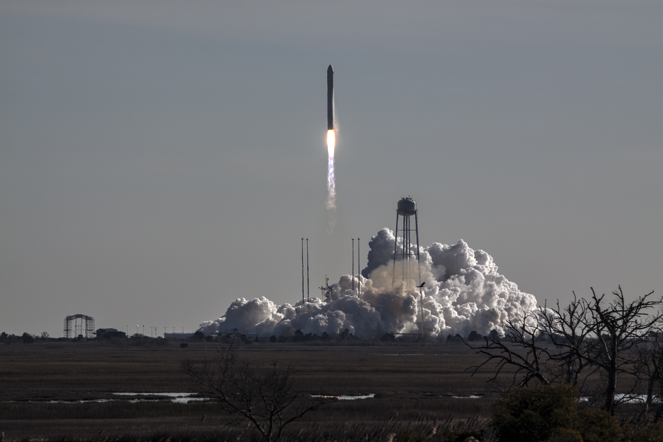 Launch of Antares: Jan. 9, 2014