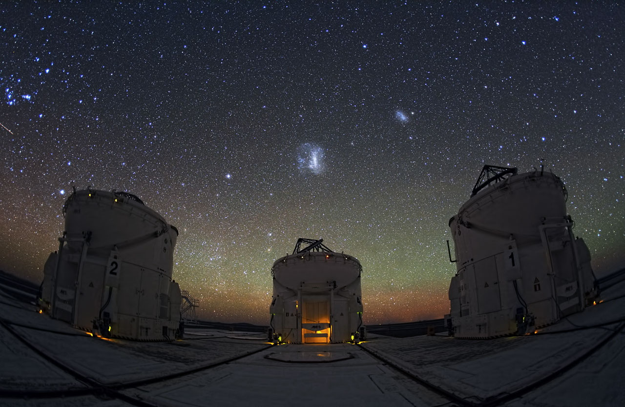 Three Telescopes Are Better Than One