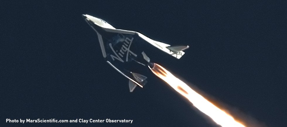 Virgin Galactic's SpaceShipTwo Spacecraft Makes Highest Supersonic Test Flight Yet