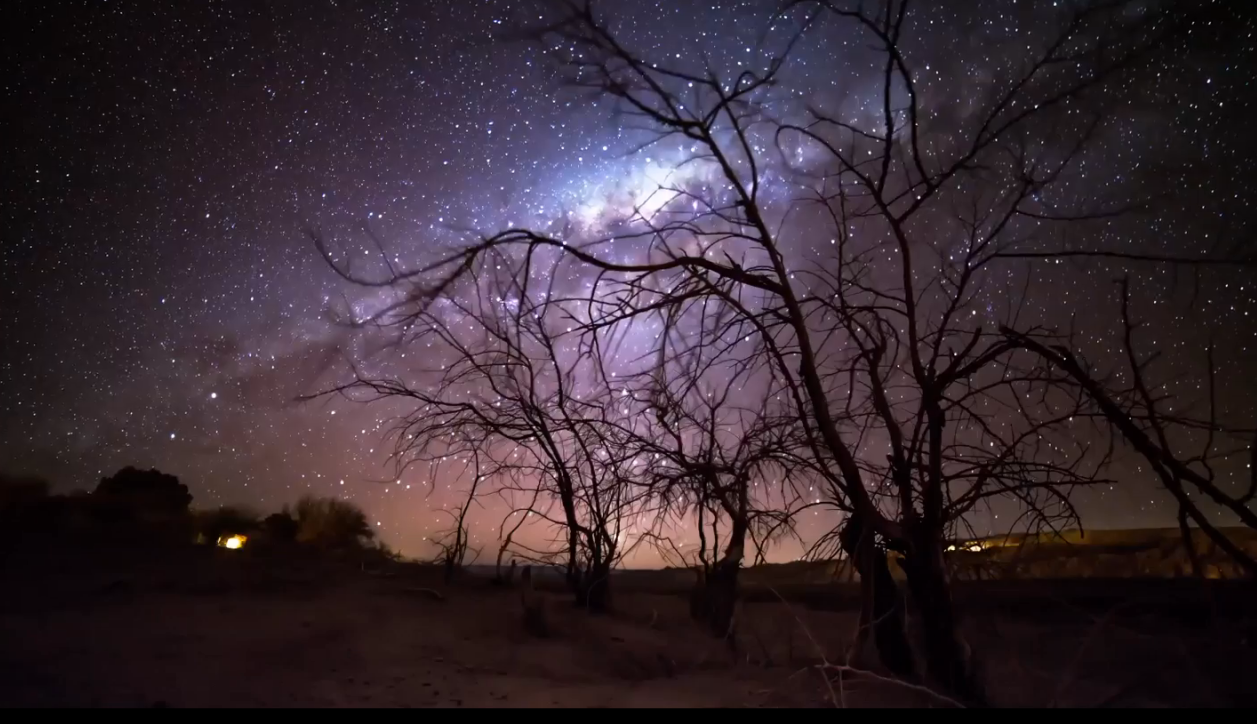 Ancients: A Celestial Timelapse of the Darkest Skies on Earth