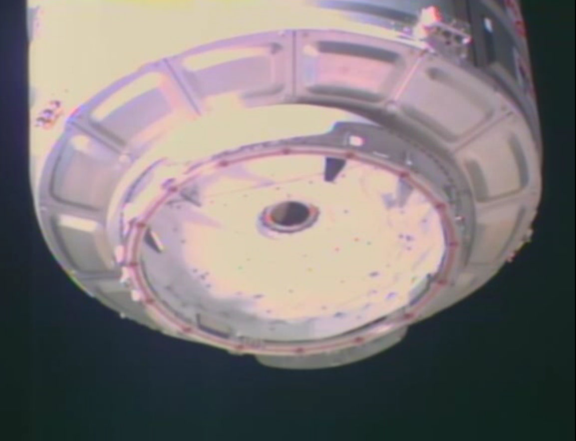 Cygnus Spacecraft Docking Hatch