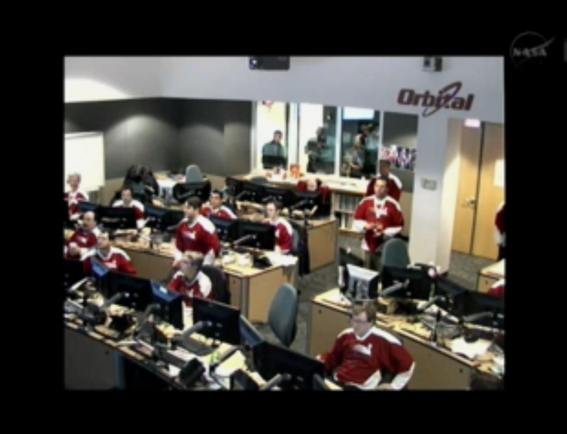 Orbital Sciences Cygnus Mission Control: Jan. 12, 2014
