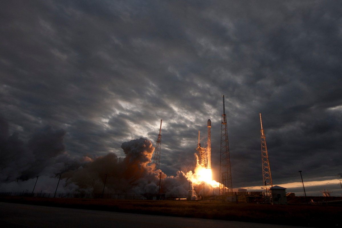 THAICOM 6 Falcon 9 GEO Transfer Mission Launch
