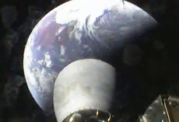 Falcon 9 Delivering the THAICOM 6 Satellite