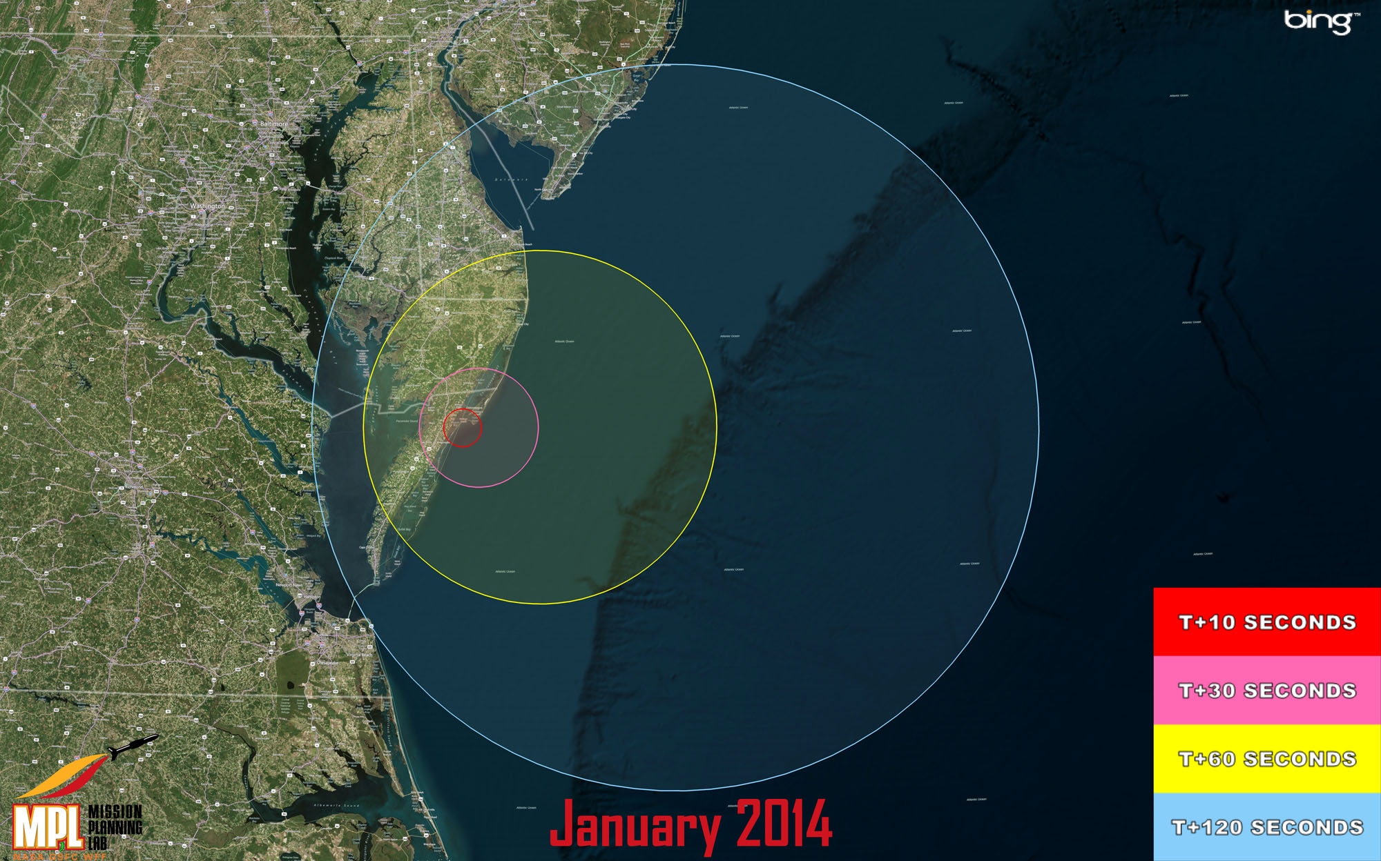 Launch Of 3 Military Rockets Tonight Visible