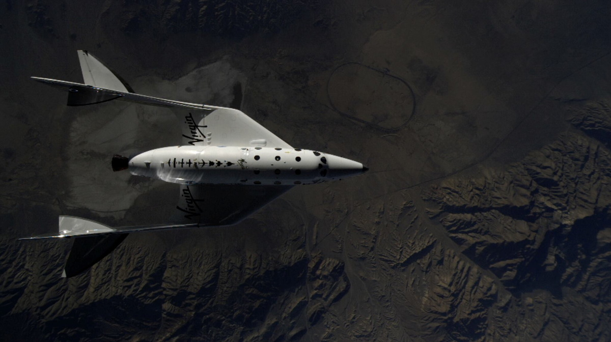 SpaceShipTwo Before Rocket Ignition