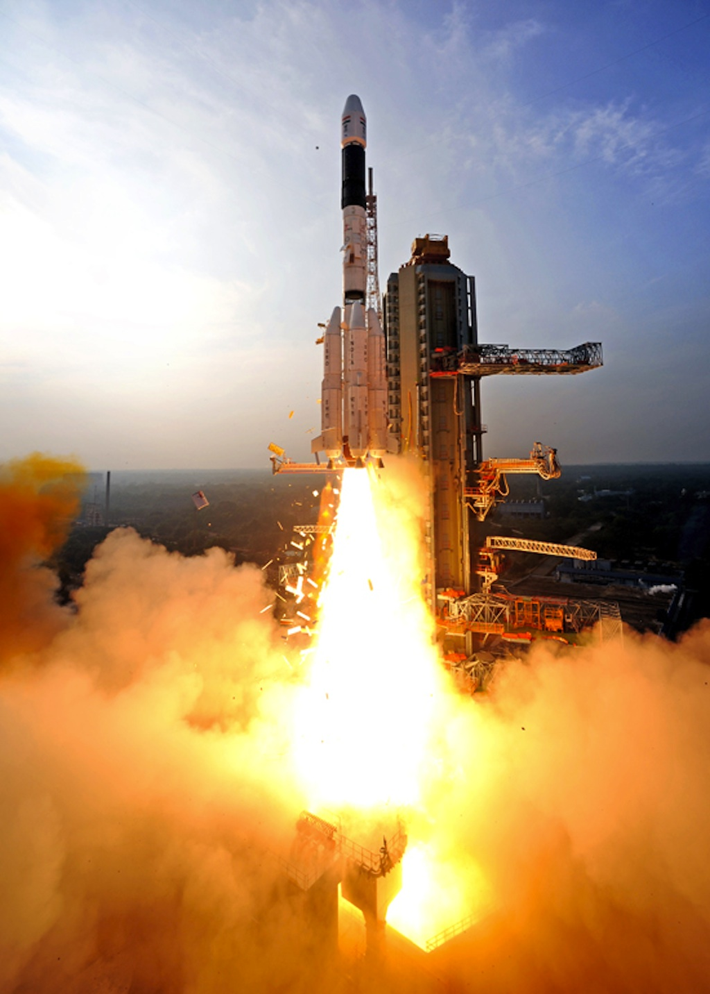 Lift Off! GSLV-D5 Launches with GSAT-14