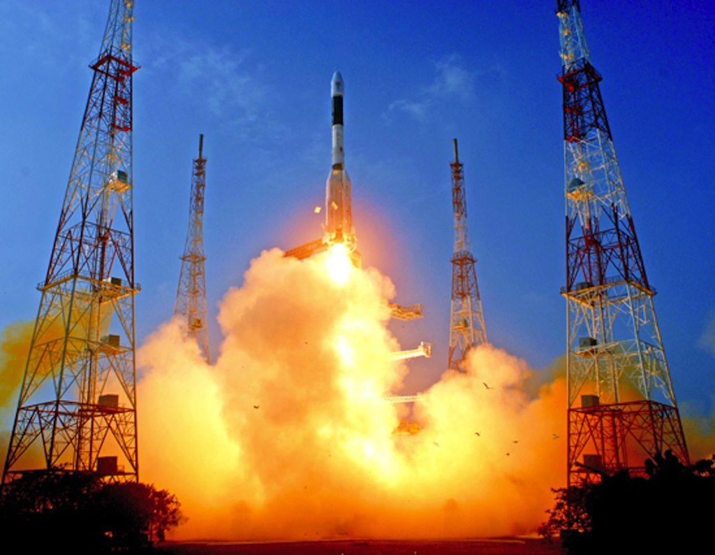 Indian Satellite Launch Marks Big Success for New Rocket Engine