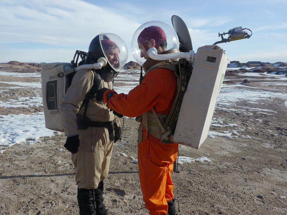 Mock Mars Mission: Learning New Skills for Red Planet Living