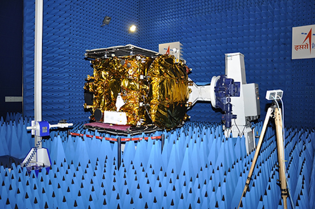 GSAT-14 Satellite Undergoes Tests