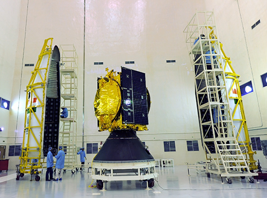 GSLV-D5 Payload and GSAT-14 Satellite