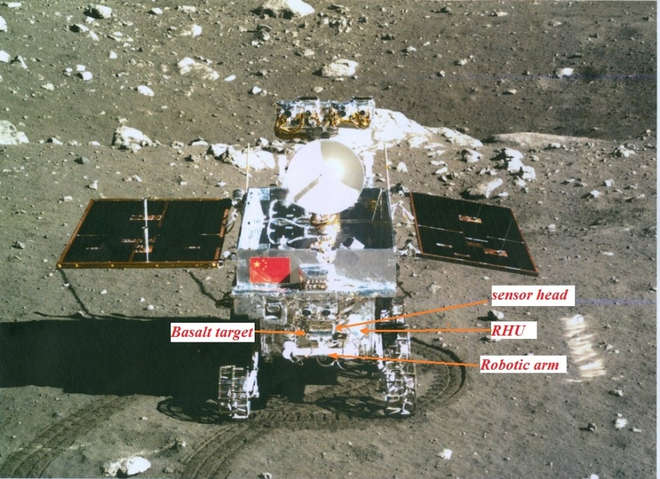 Yutu Rover Carries APXS