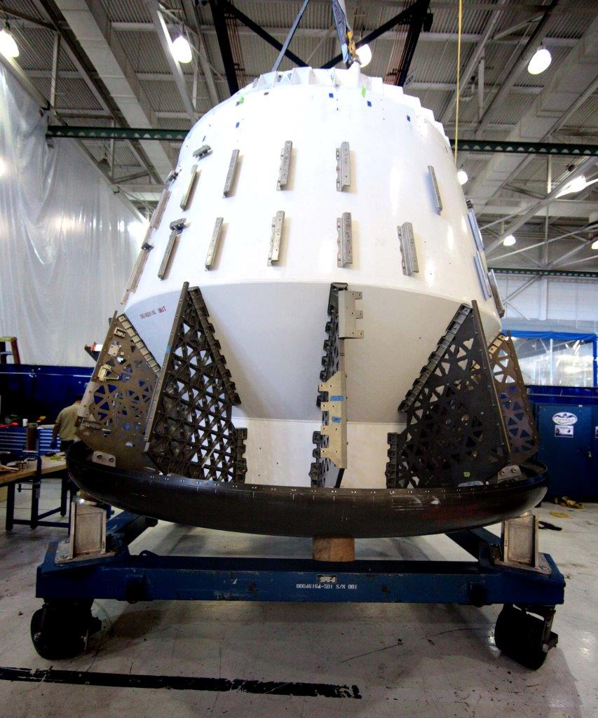 SpaceX's Dragon Test Article