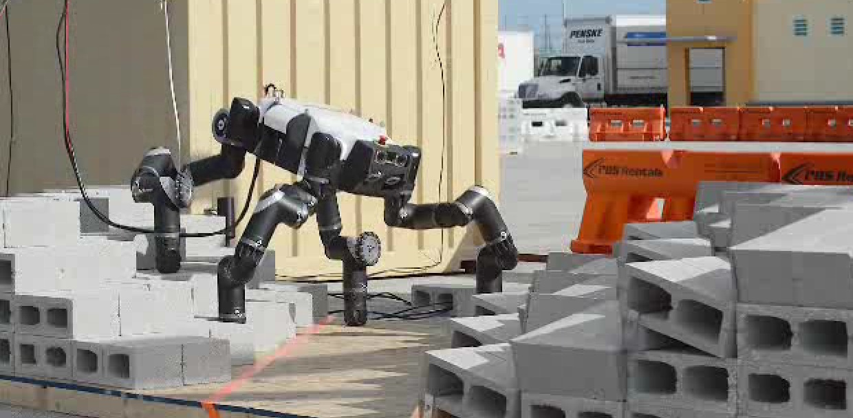 RoboSimian in Action at DARPA Robotics Challenge