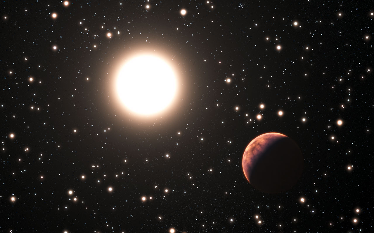 Alien Planet Around Solar Twin Found in Distant Star Cluster, a First (Video)