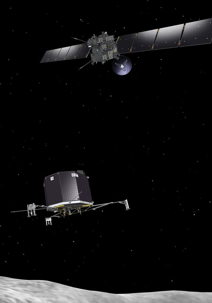 Rosetta and Philae at Comet