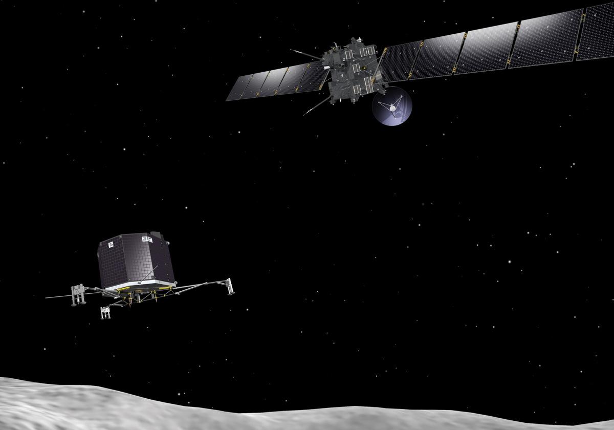 Rosetta and Philae at Comet #2
