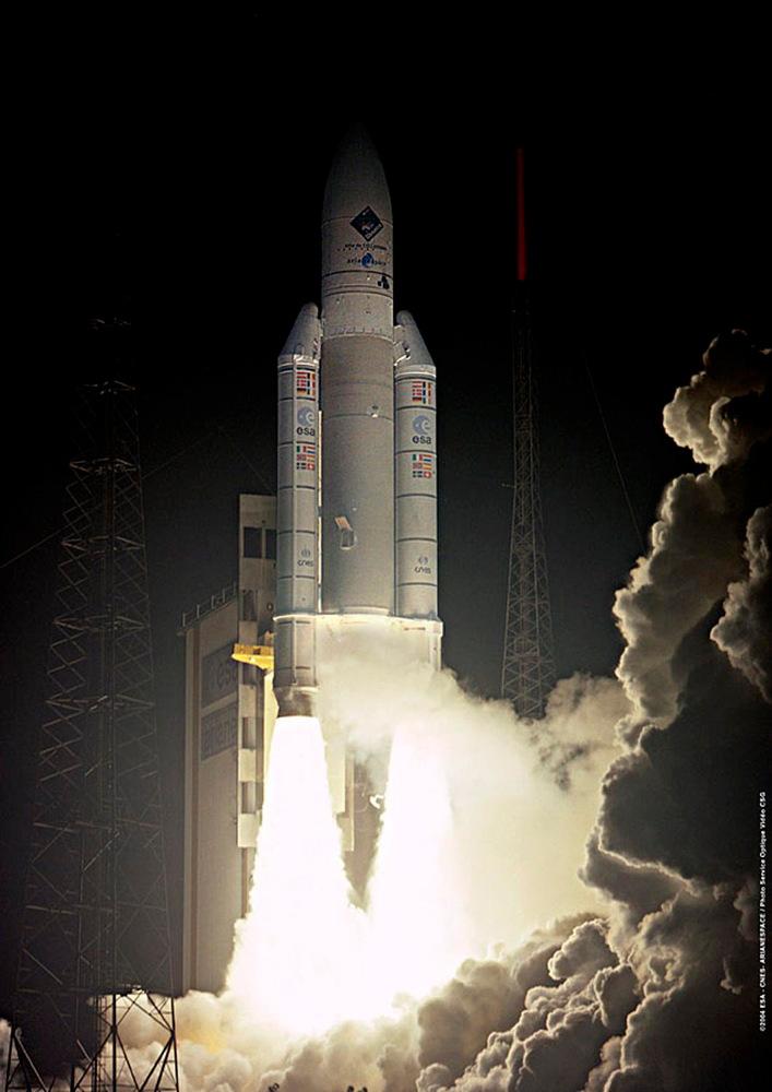 Rosetta Launch in 2004