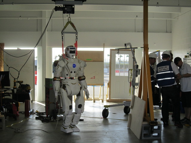 Valkyrie Robot in Garage