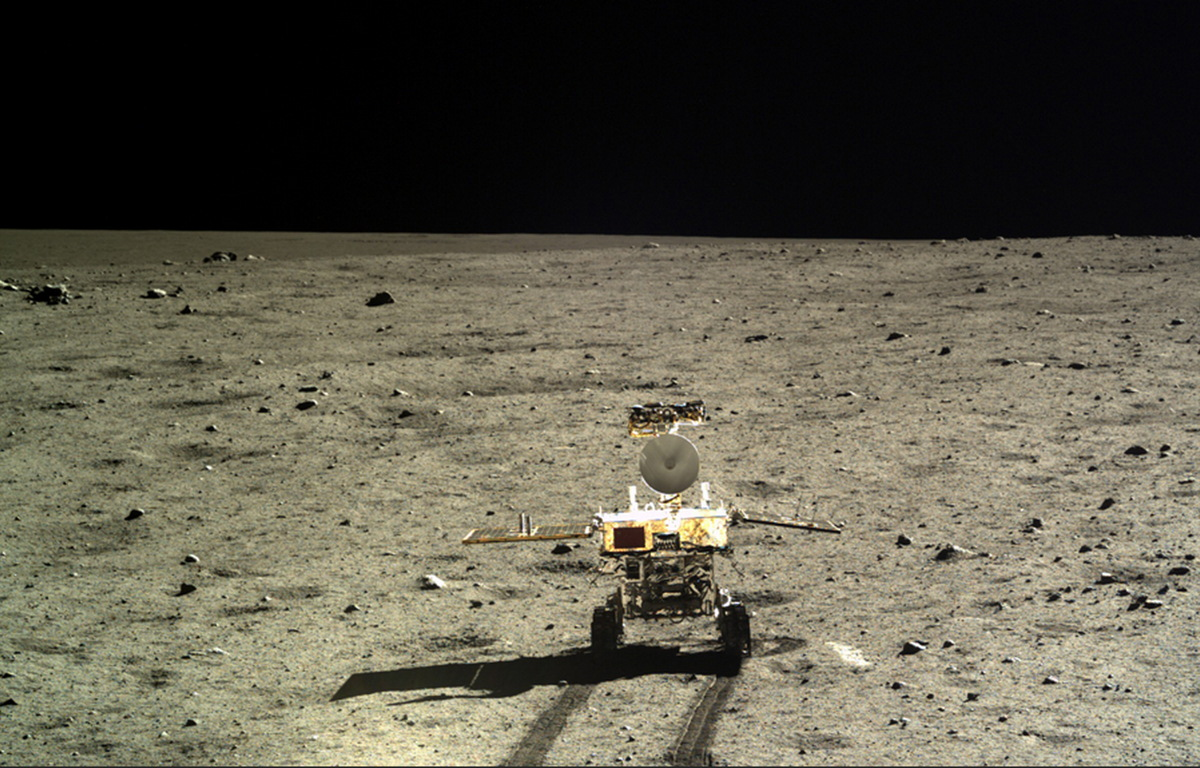 Yutu Rover Rolls Out