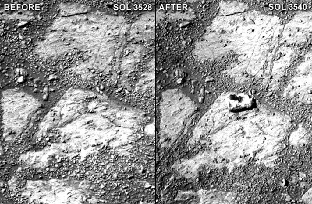 Mystery Mars Rock
