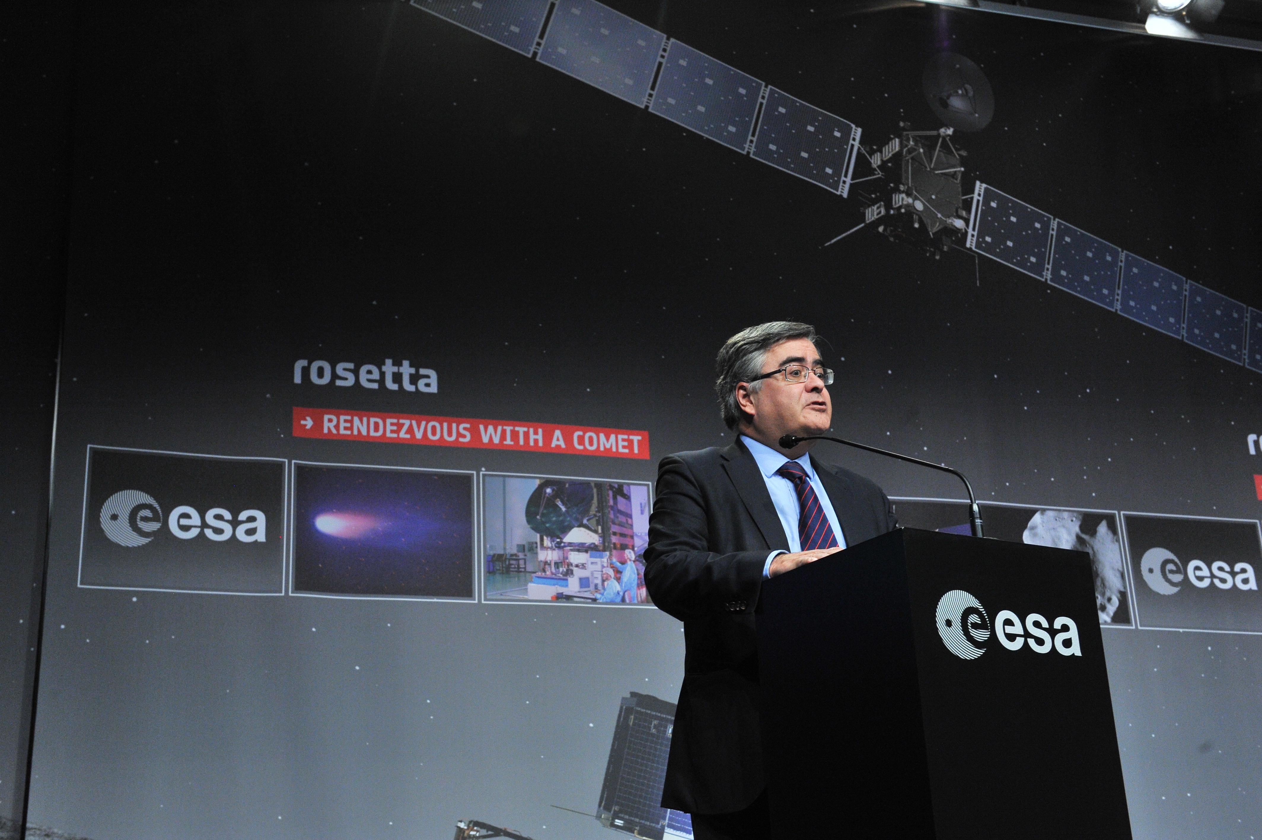 Rosetta Wake Up Day: Alvaro Gimenez