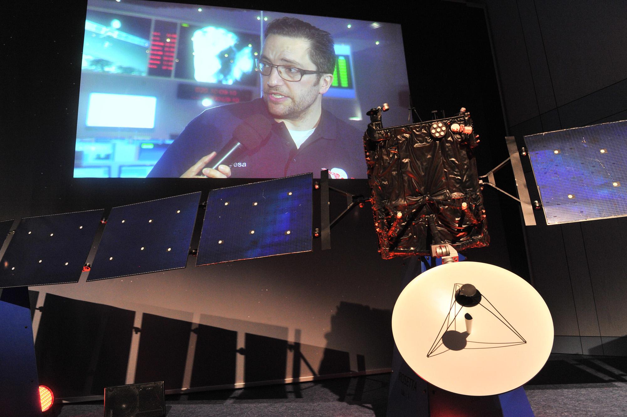 Rosetta's Wake Up Day: Project Scientist Matt Taylor