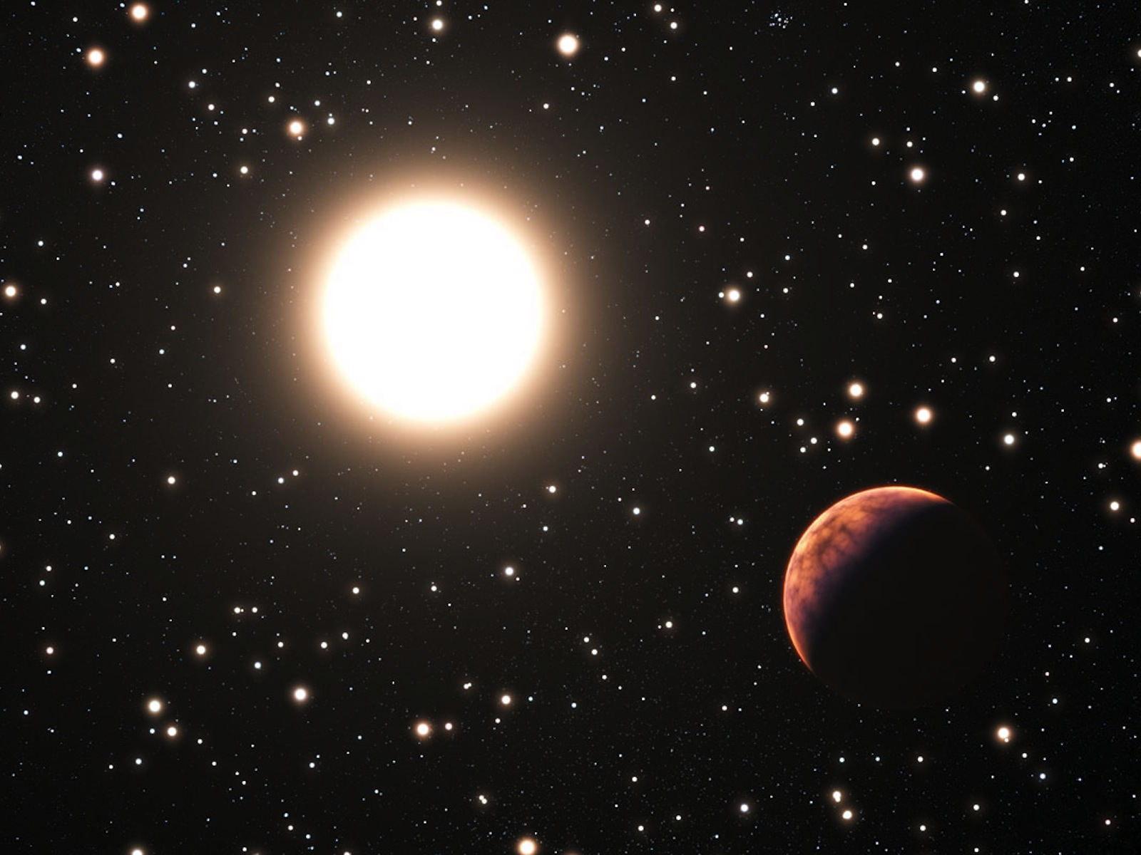 New Planet Discovered in Messier 67 Illustration
