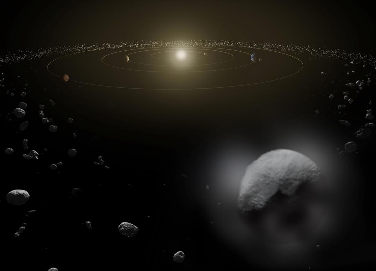 dwarf planets at night - photo #13