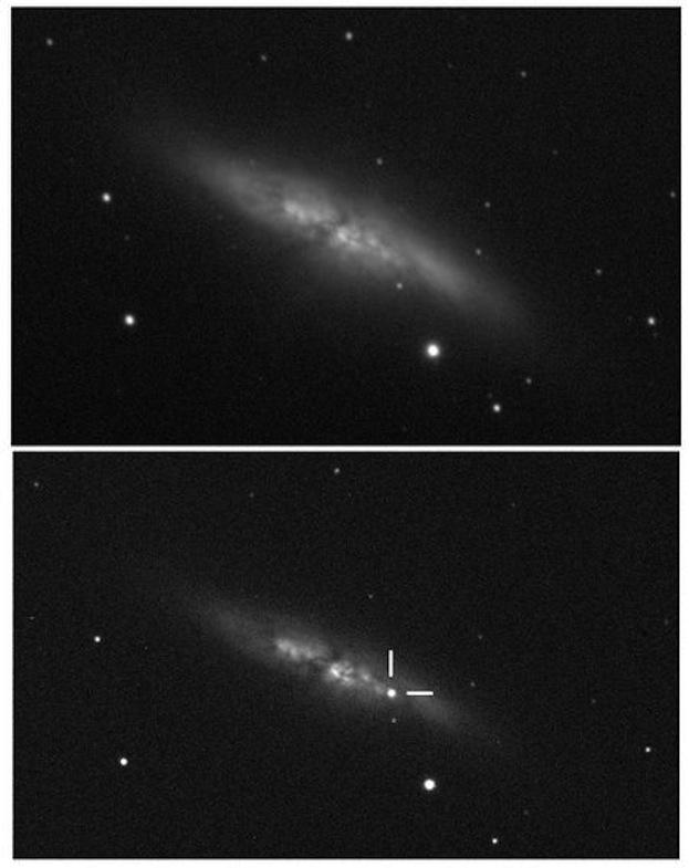 Supernova M82