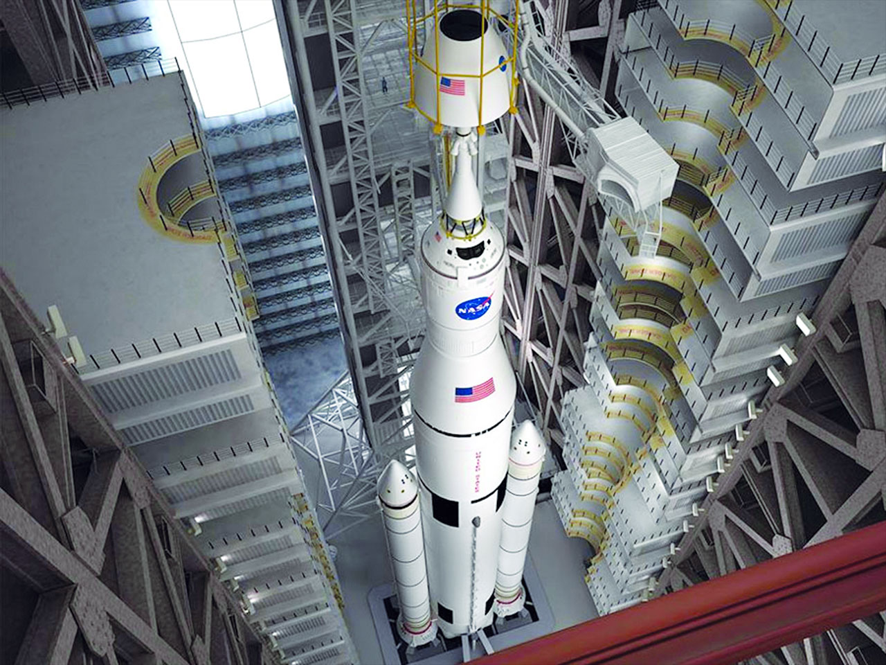 NASA's New Mega-Rocket, Orion Capsule on Track for Future Test Flights
