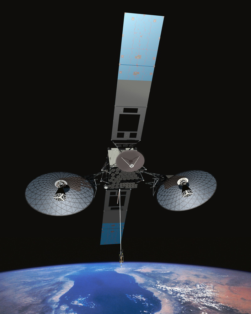 TDRS-L in Orbit