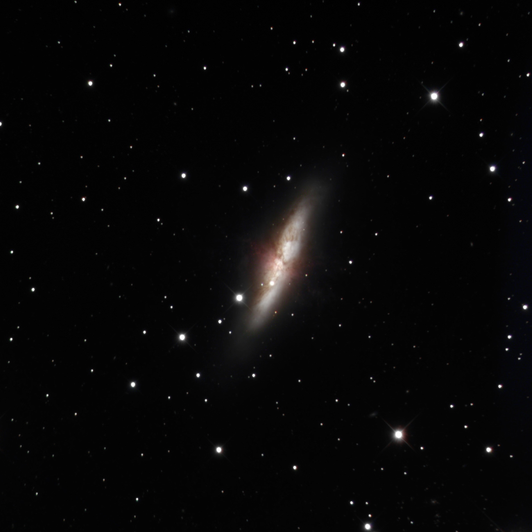 New Supernova in M82 by Mike Hankey