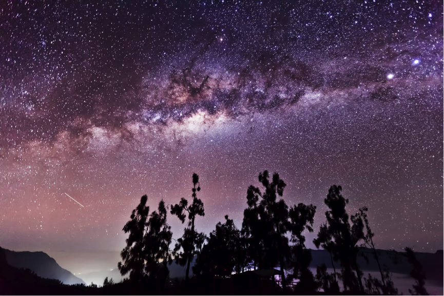 Photos: Jaw-Dropping Stargazing Views from Indonesia's Mount Bromo (Photos)