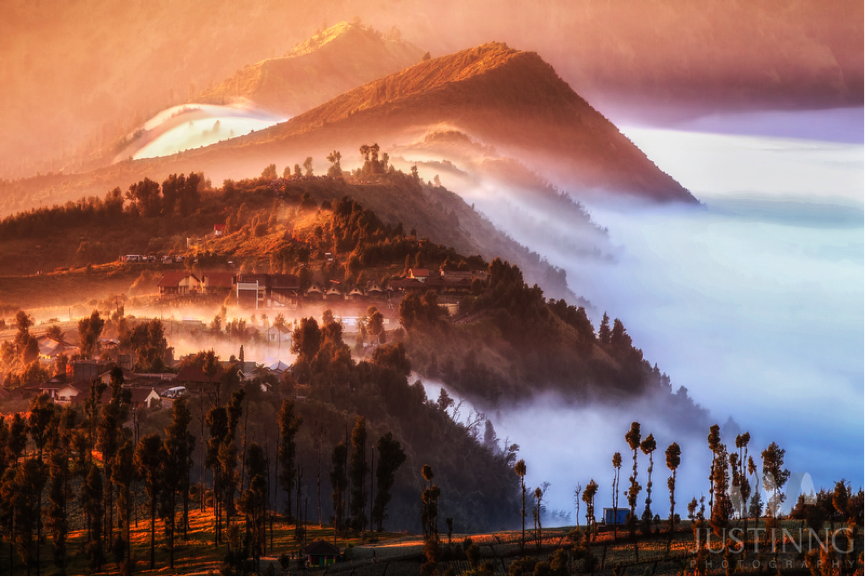 Cemoro Lawang Village in Mount Bromo