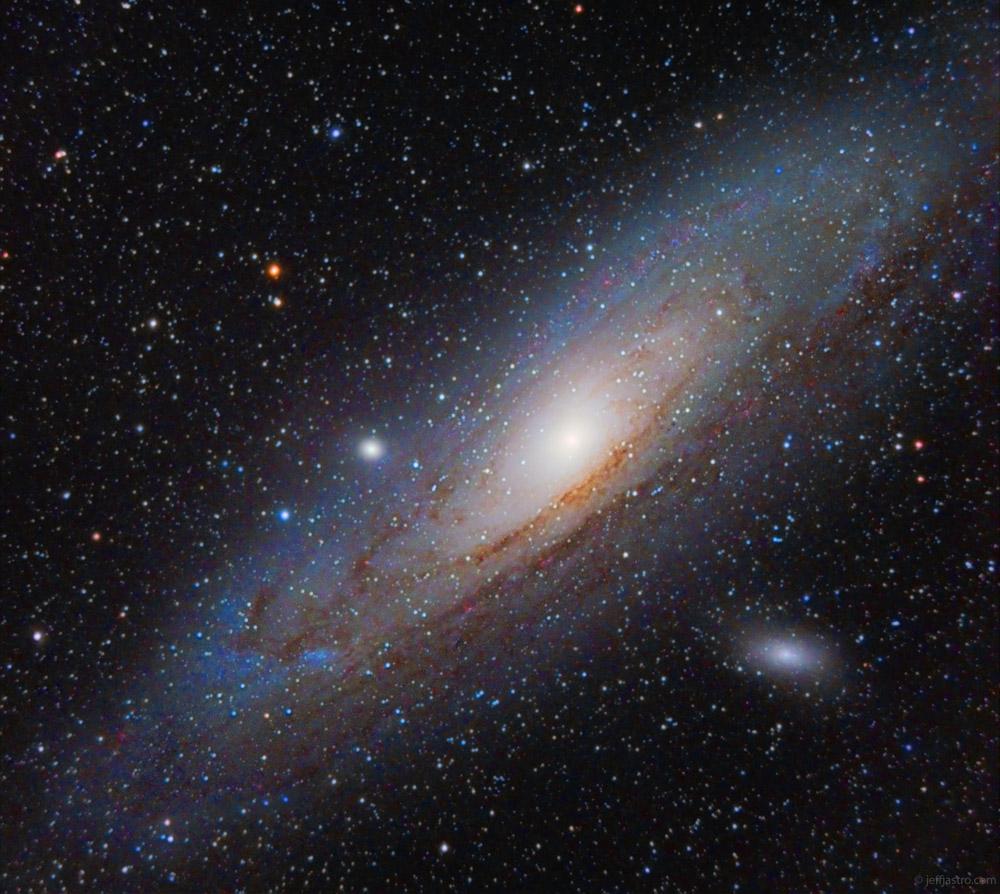 Andromeda Galaxy by Jeff Johnson