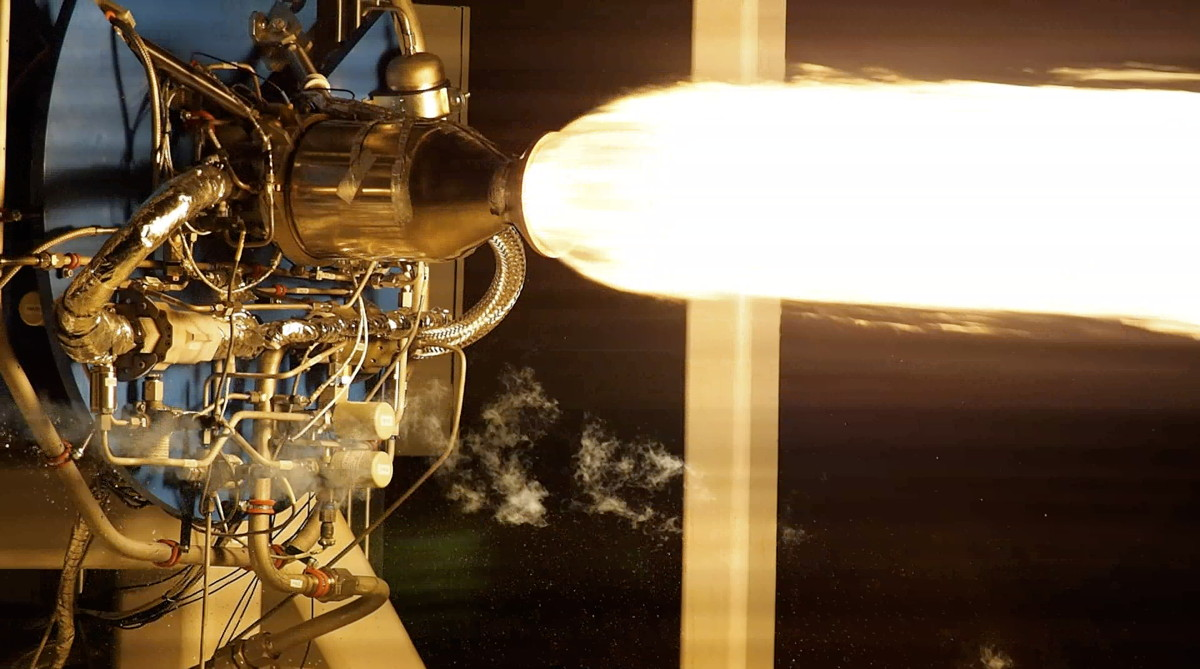 Virgin Galactic Fires New Engines for Satellite-Launching Rocket
