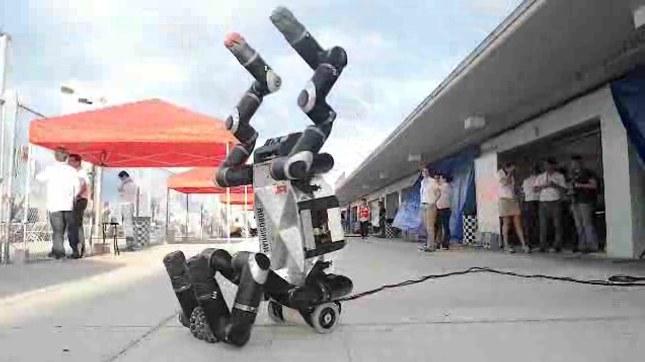 NASA's RoboSimian Robot in DARPA Trials
