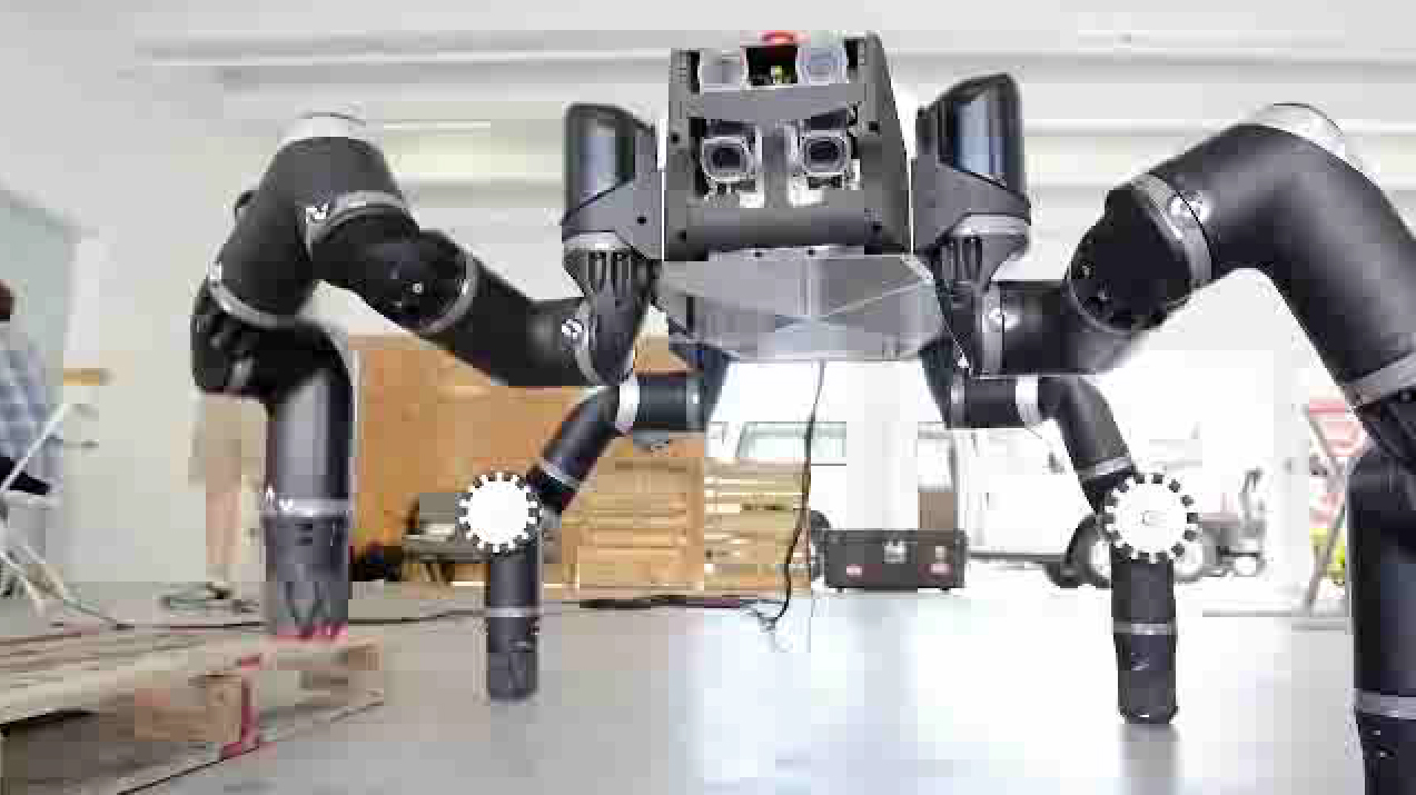 NASA's RoboSimian Robot Up Close