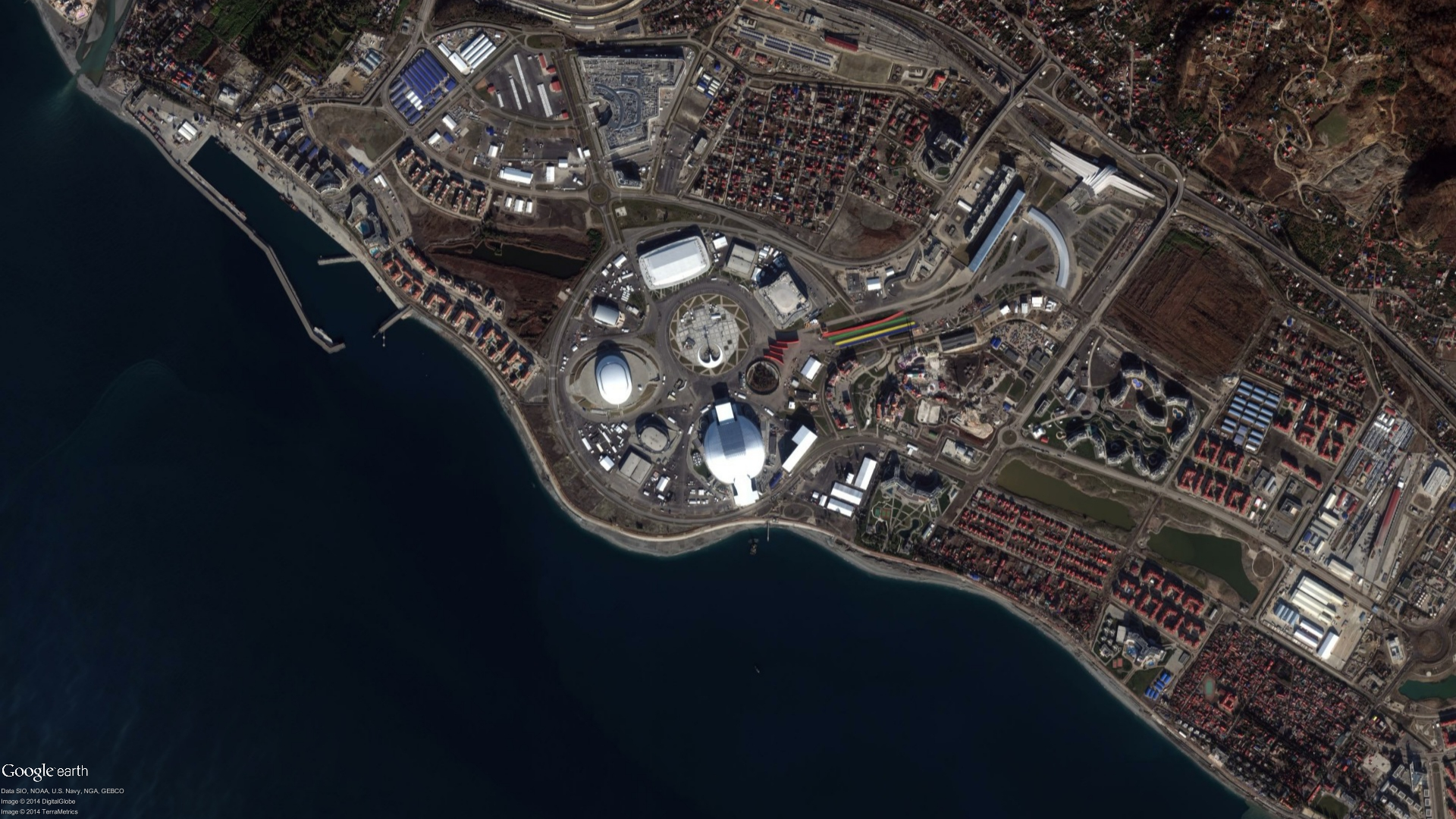 Photos: 2014 Sochi Winter Olympics and Space Travel