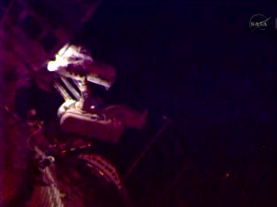 Russian Spacewalk Outside ISS: Jan. 27, 2014