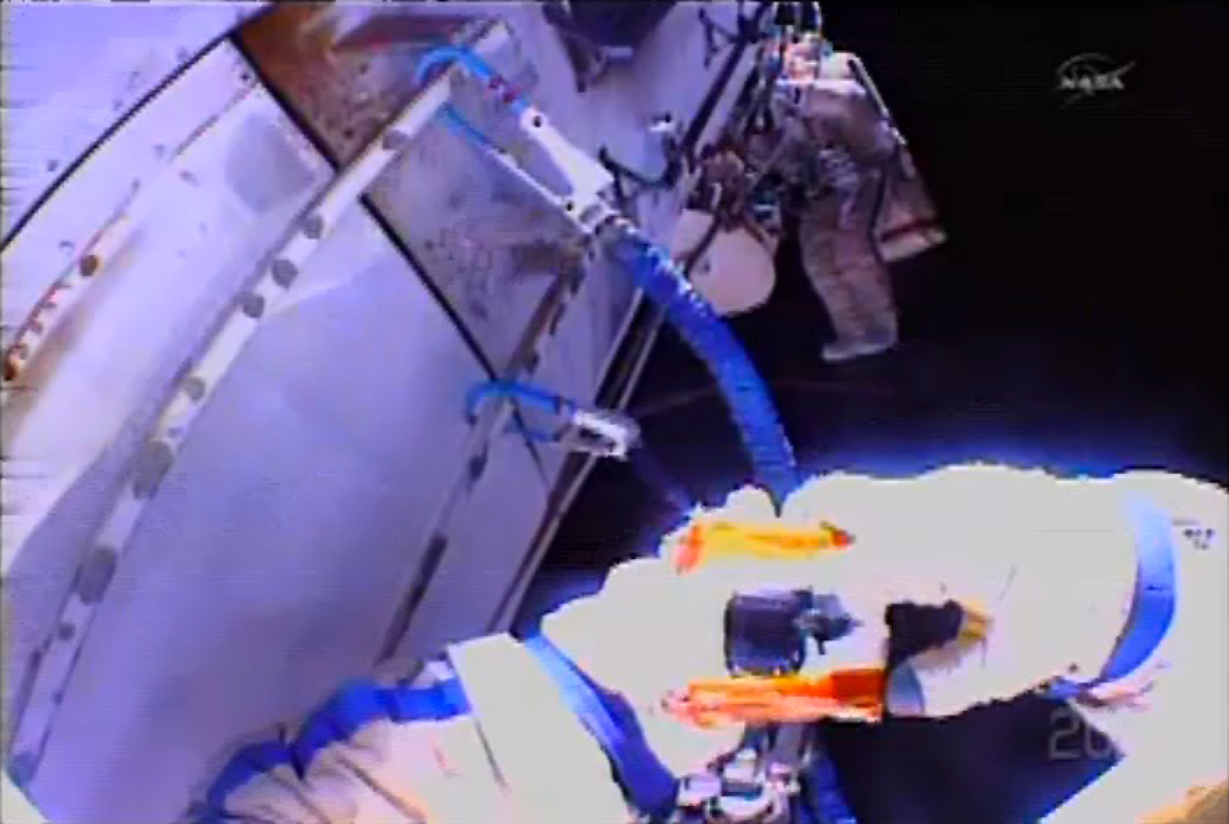 Expedition 38 Spacewalk