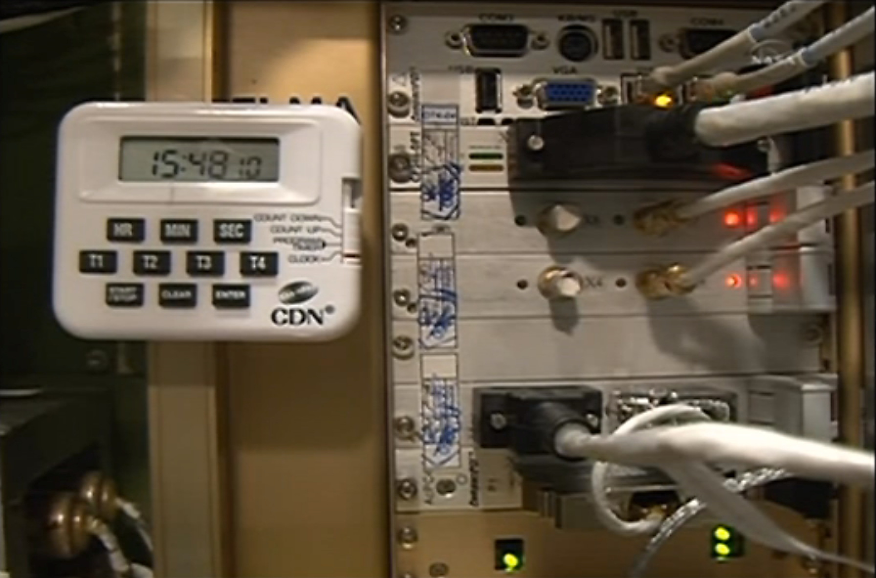 UrtheCast Cameras Telemetry Panel in Zvezda Module